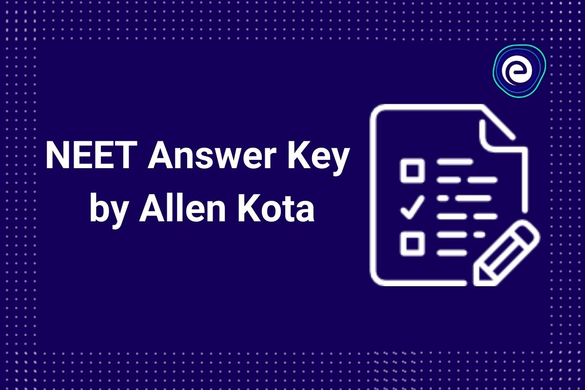 NEET 2021 Answer Key by Allen Kota
