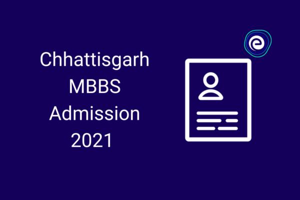 Chhattisgarh MBBS Admission